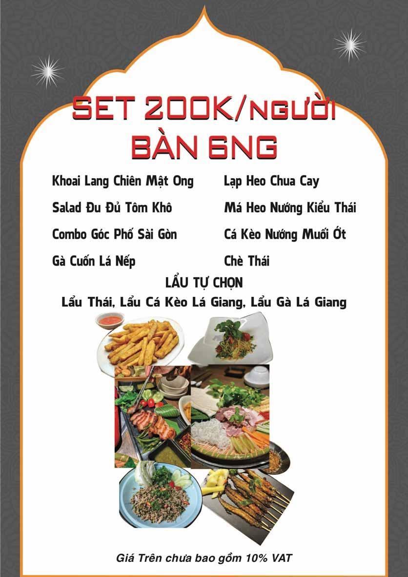 Menu Góc Phố Sài Gòn - Hàng Tre 18