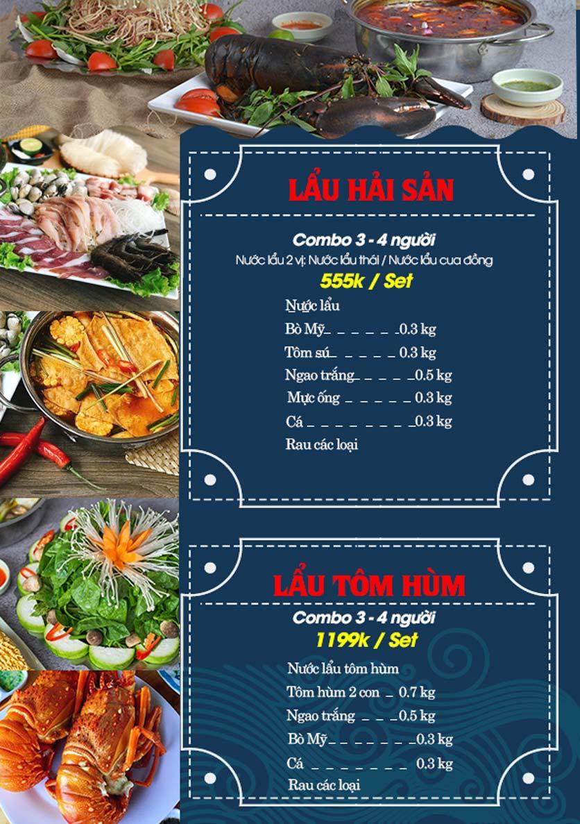 Menu Hải Sản Biển Cua - Nguyễn Khang 10