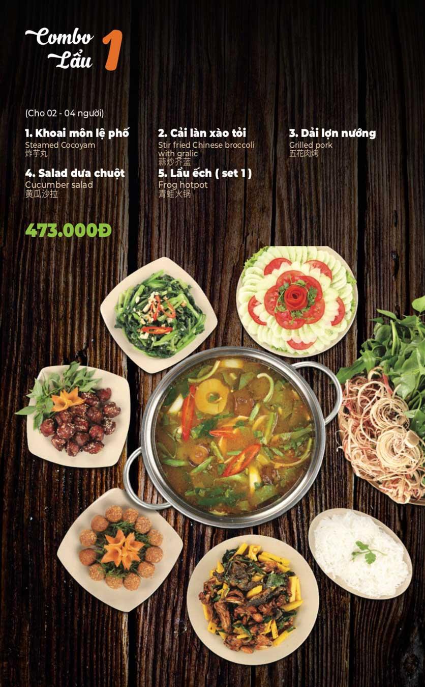 Menu Lẩu Sơn Tùng - Nguyễn Khánh Toàn 3