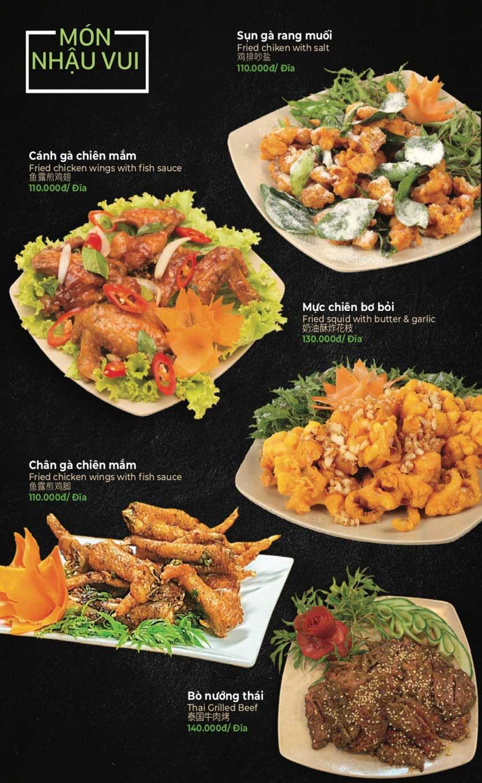 Menu Lẩu Sơn Tùng - Nguyễn Khánh Toàn 21