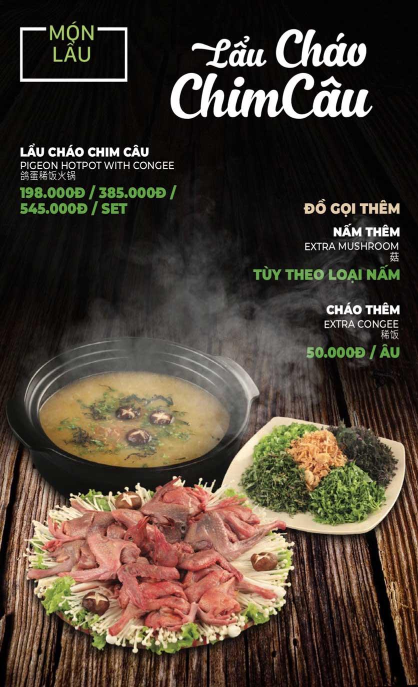 Menu Lẩu Sơn Tùng - Nguyễn Khánh Toàn 24
