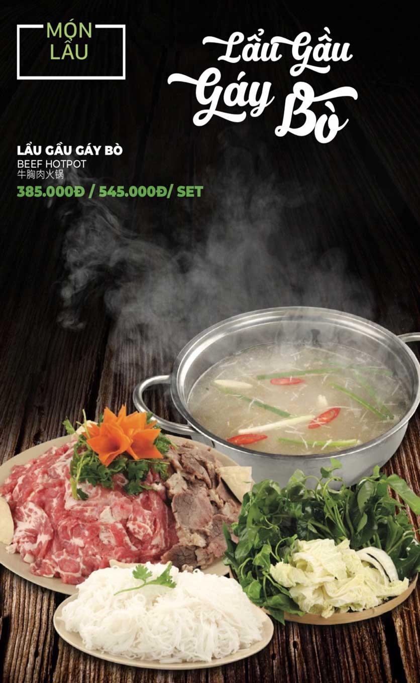 Menu Lẩu Sơn Tùng - Nguyễn Khánh Toàn 25