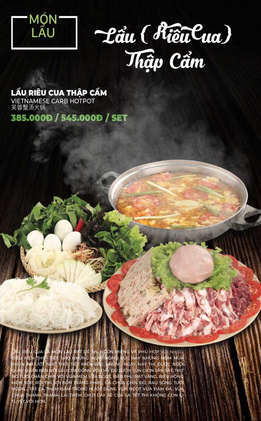 Menu Lẩu Sơn Tùng - Nguyễn Khánh Toàn 28