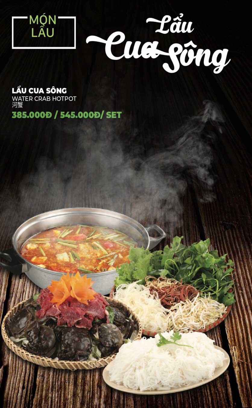 Menu Lẩu Sơn Tùng - Nguyễn Khánh Toàn 30
