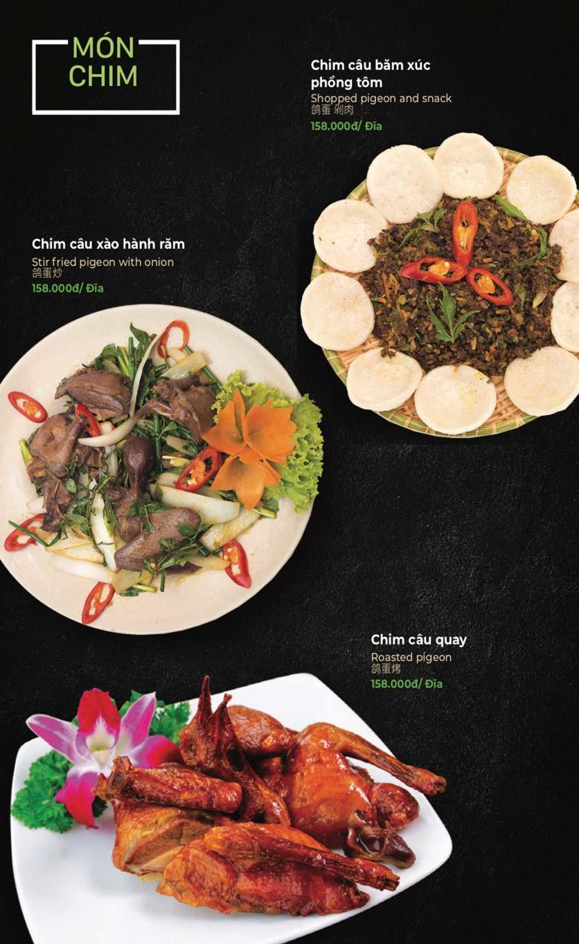 Menu Lẩu Sơn Tùng - Nguyễn Khánh Toàn 33