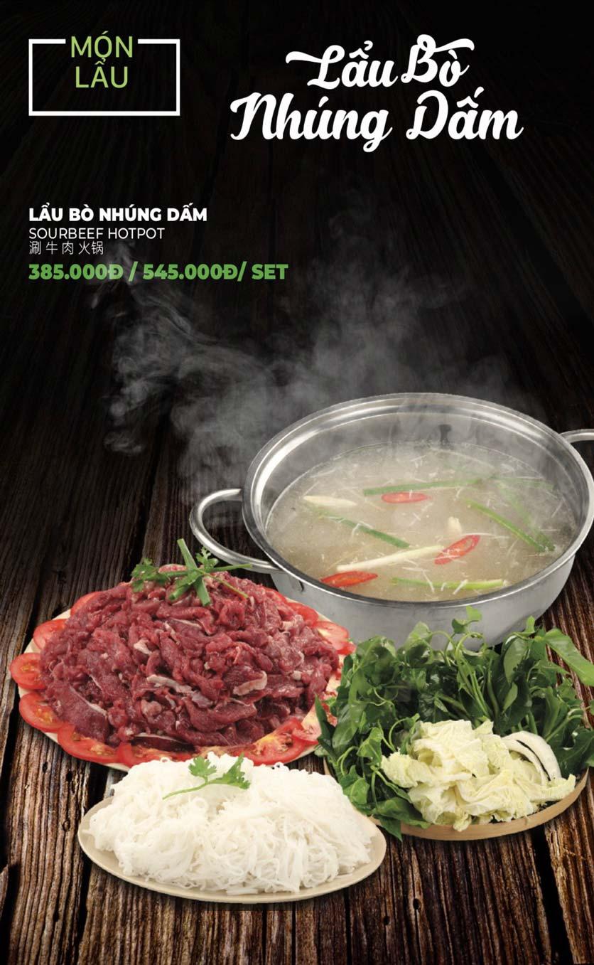 Menu Lẩu Sơn Tùng - Nguyễn Khánh Toàn 34