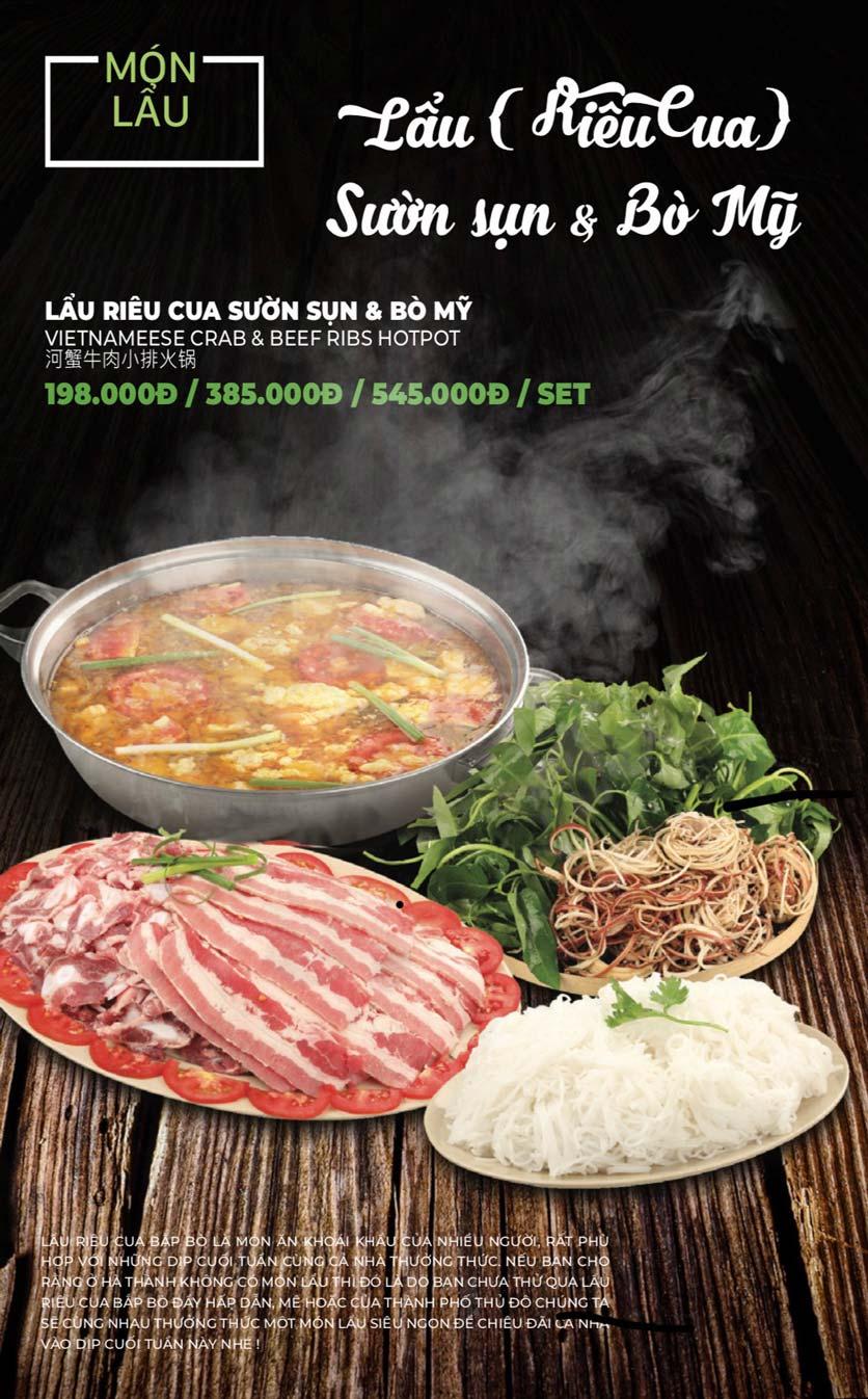 Menu Lẩu Sơn Tùng - Nguyễn Khánh Toàn 35