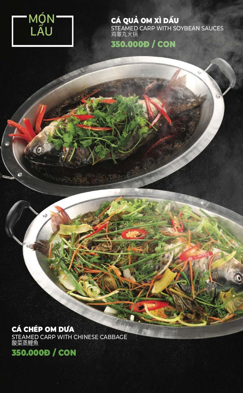 Menu Lẩu Sơn Tùng - Nguyễn Khánh Toàn 39