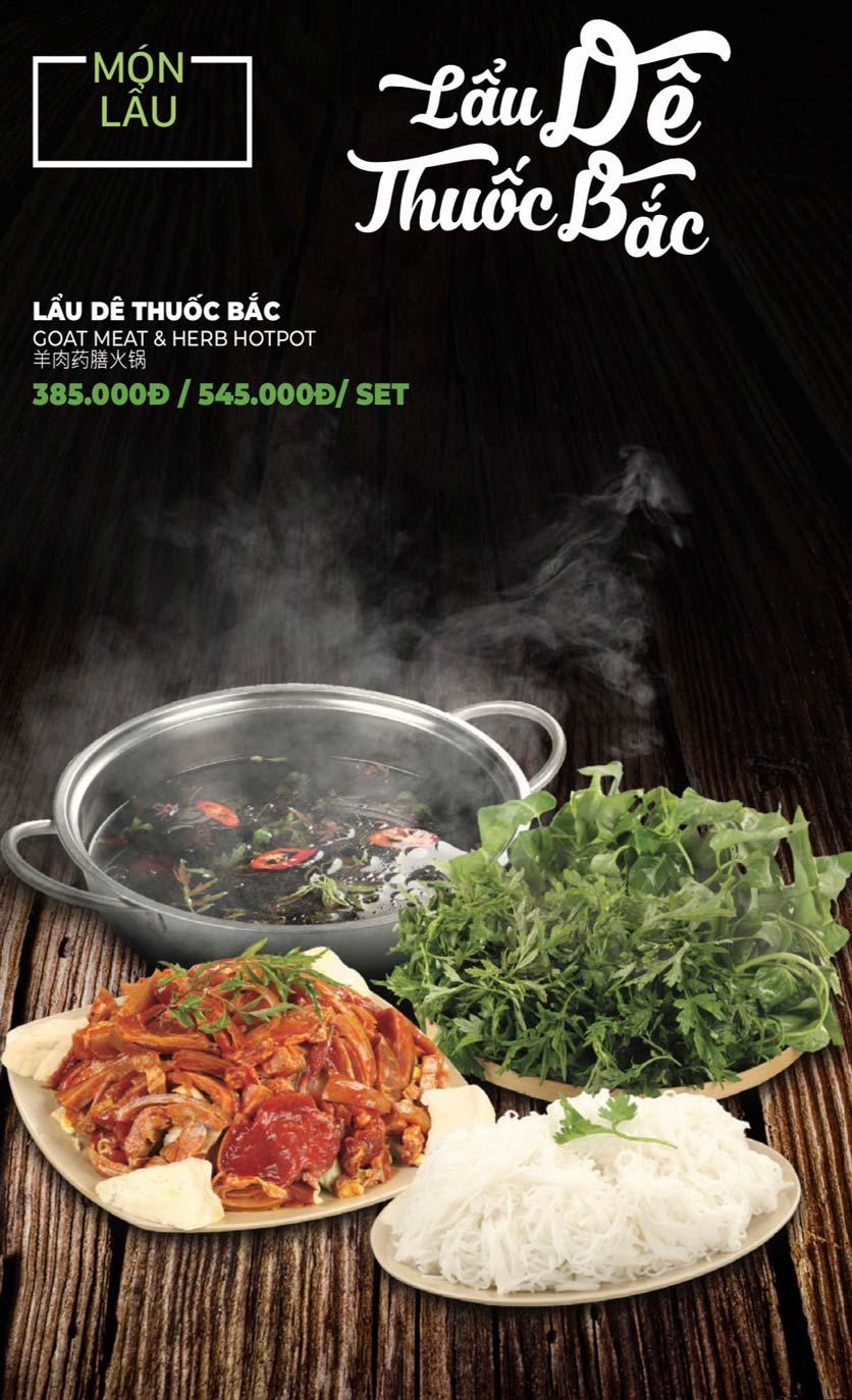 Menu Lẩu Sơn Tùng - Nguyễn Khánh Toàn 50