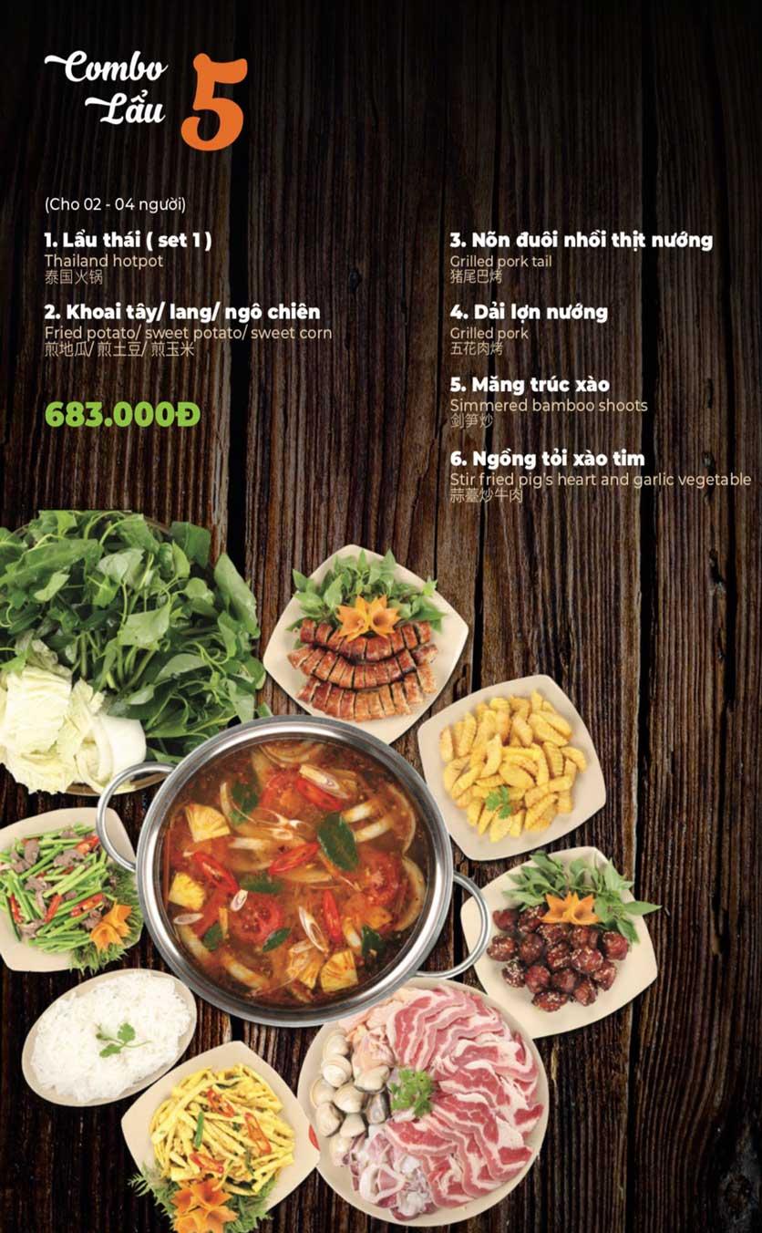 Menu Lẩu Sơn Tùng - Nguyễn Khánh Toàn 7