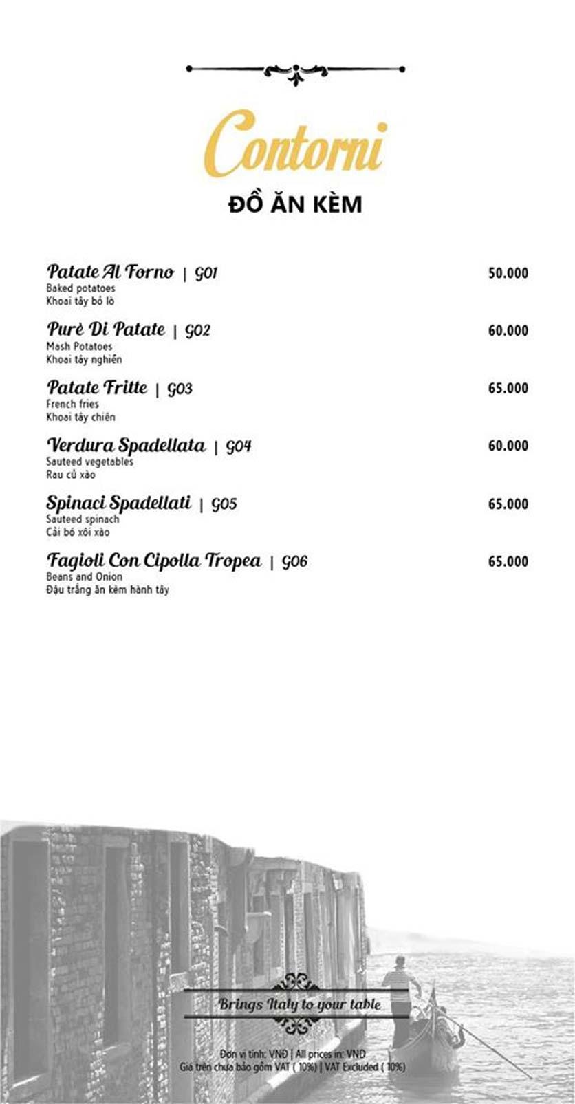 Menu Mamma Mia - Italian Restaurant  2