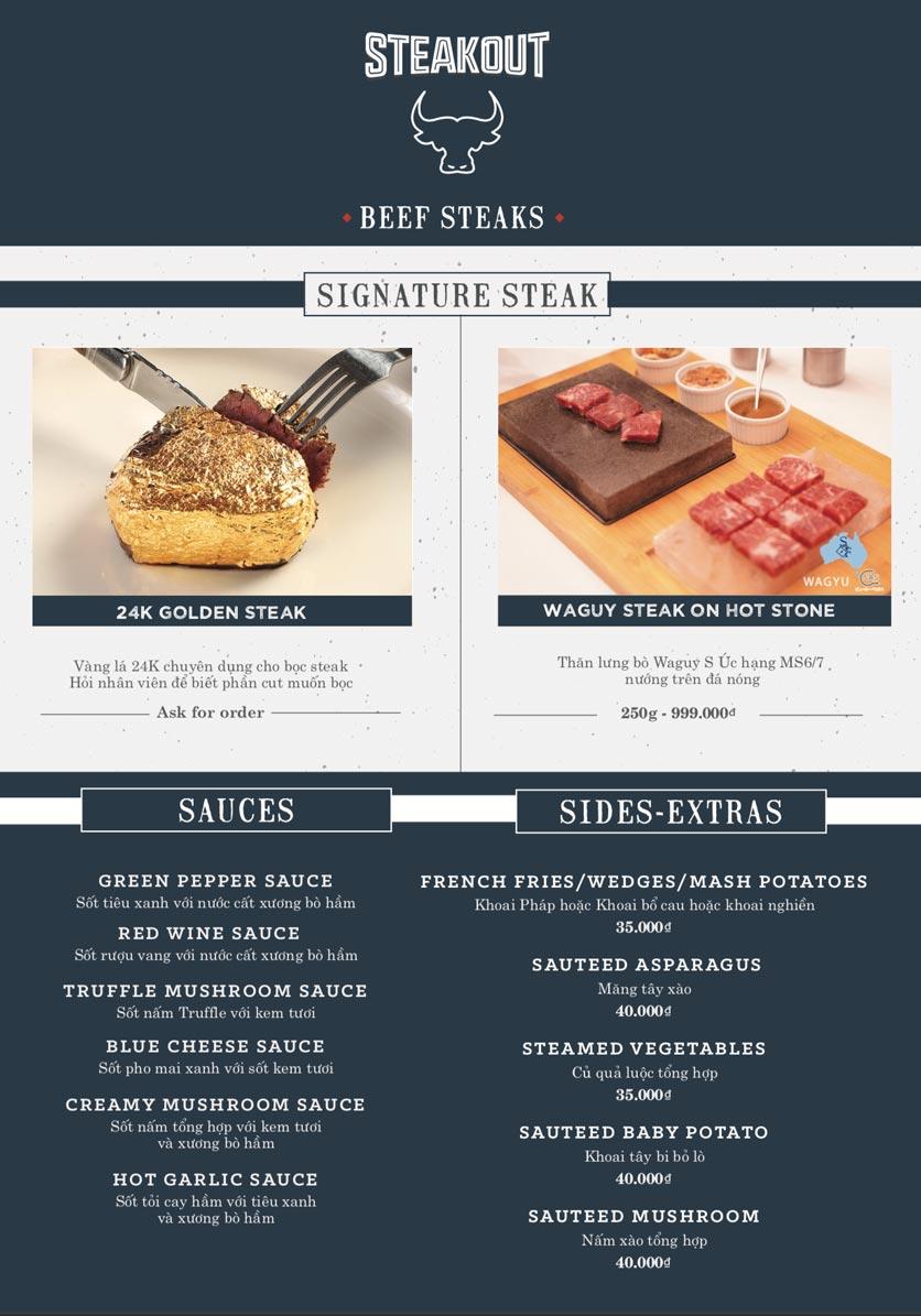 Menu Steakout   5