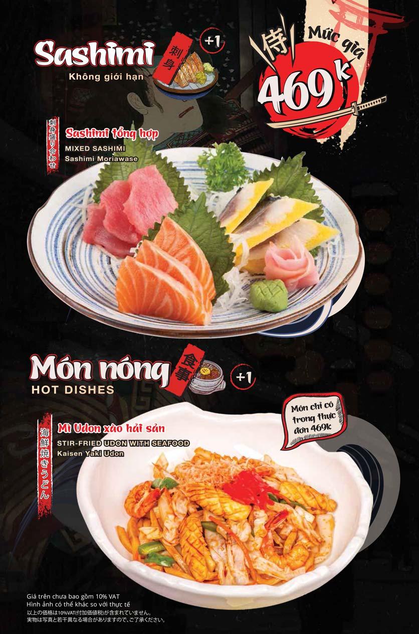 Menu Tasaki BBQ - Trần Thái Tông 12