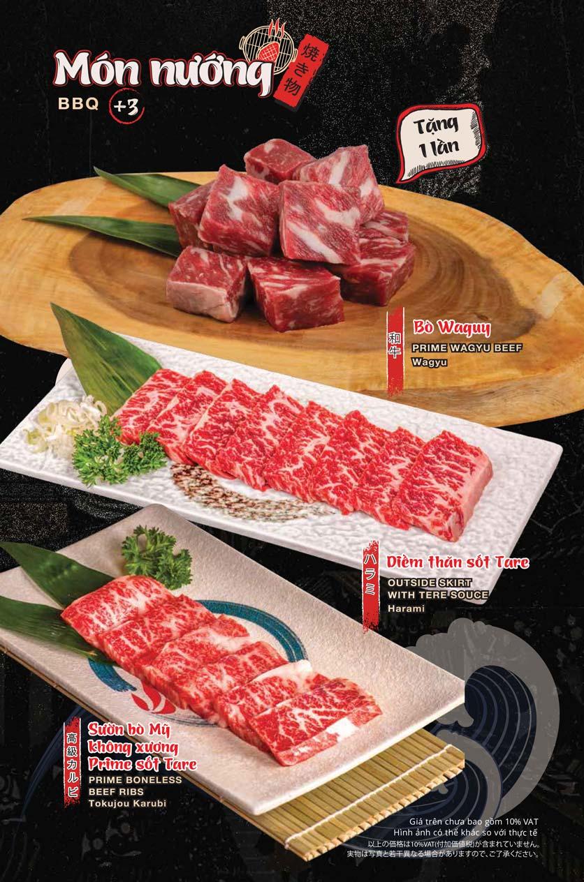 Menu Tasaki BBQ - Trần Thái Tông 13