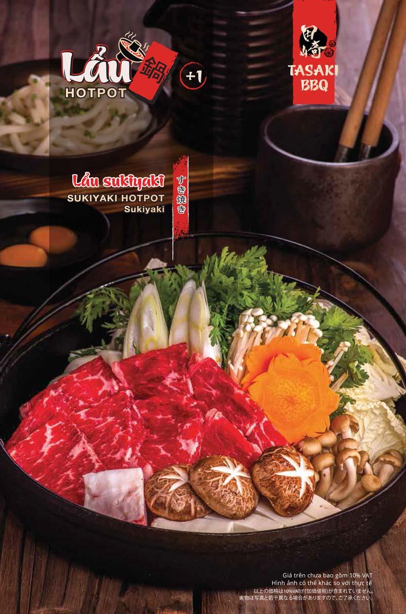 Menu Tasaki BBQ - Trần Thái Tông 14