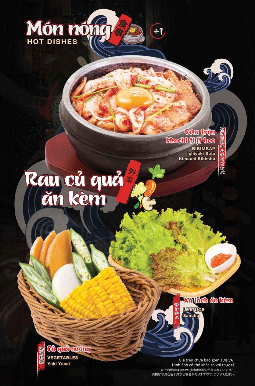 Menu Tasaki BBQ - Trần Thái Tông 5