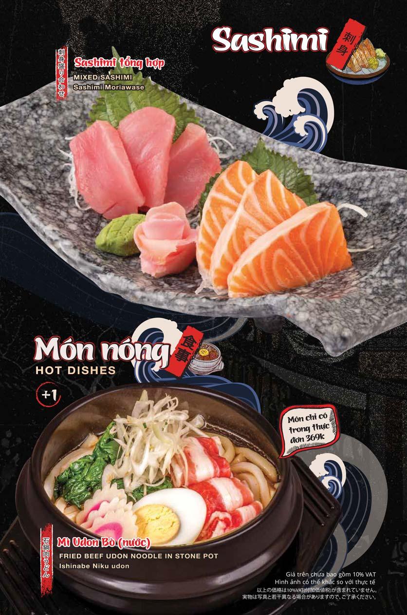 Menu Tasaki BBQ - Trần Thái Tông 9