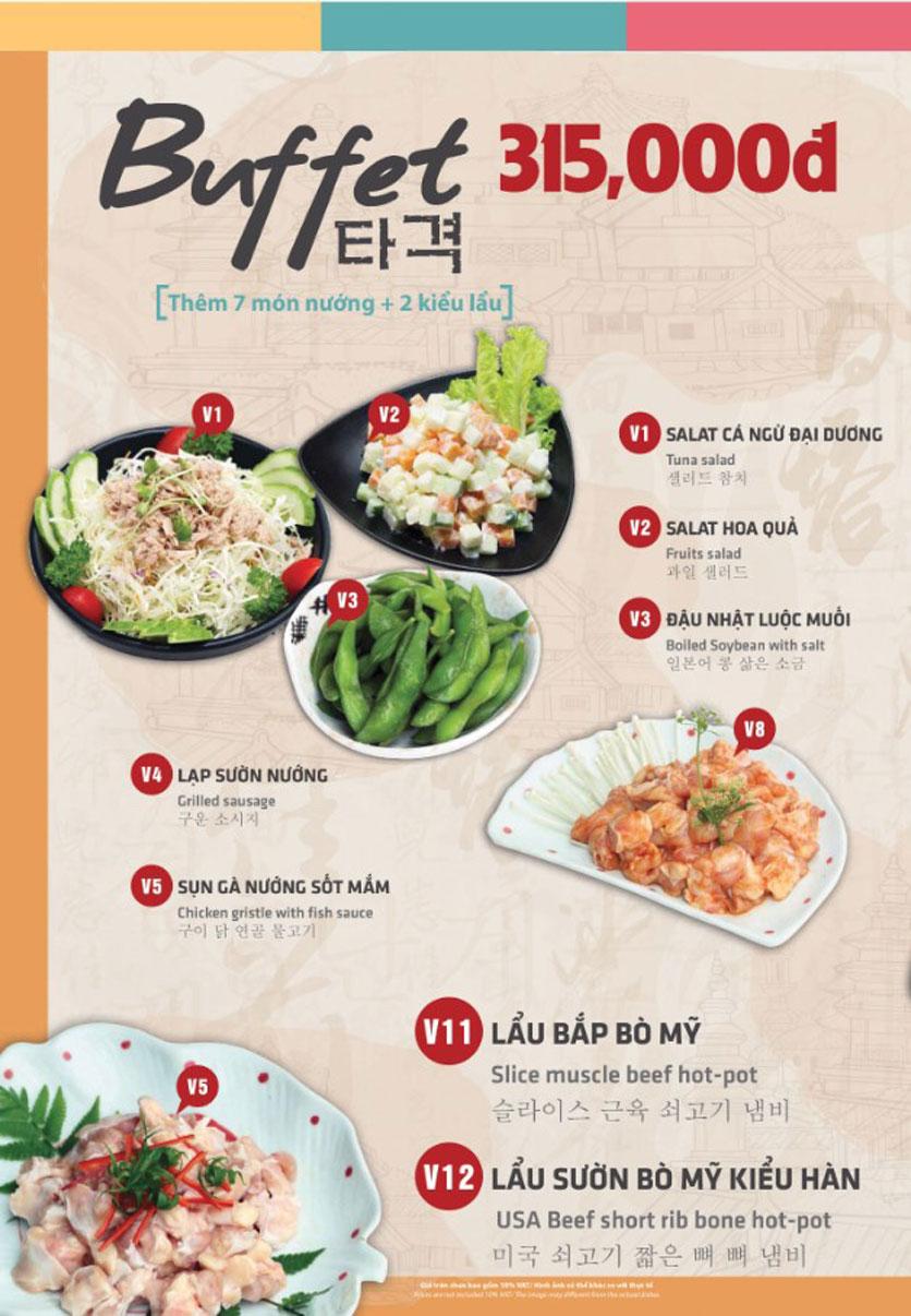 Menu Mr. Shin - Quán thịt nướng 5 cấp độ - Linh Đàm 5