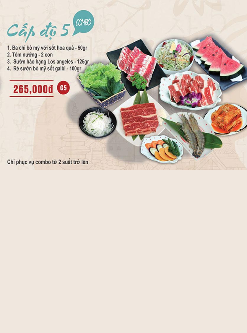 Menu Mr. Shin - Quán thịt nướng 5 cấp độ - Linh Đàm 7