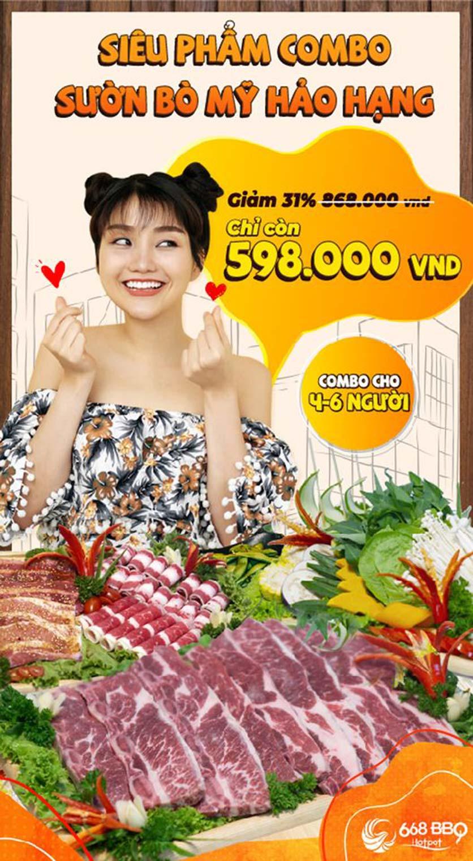 Menu 668 BBQ & hotpot - Lê Văn Lương 15