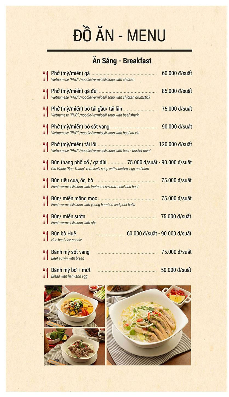 Menu Buffet Sen Xanh - Lê Văn Lương  6