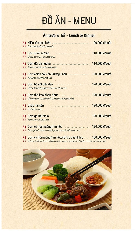 Menu Buffet Sen Xanh - Lê Văn Lương  7
