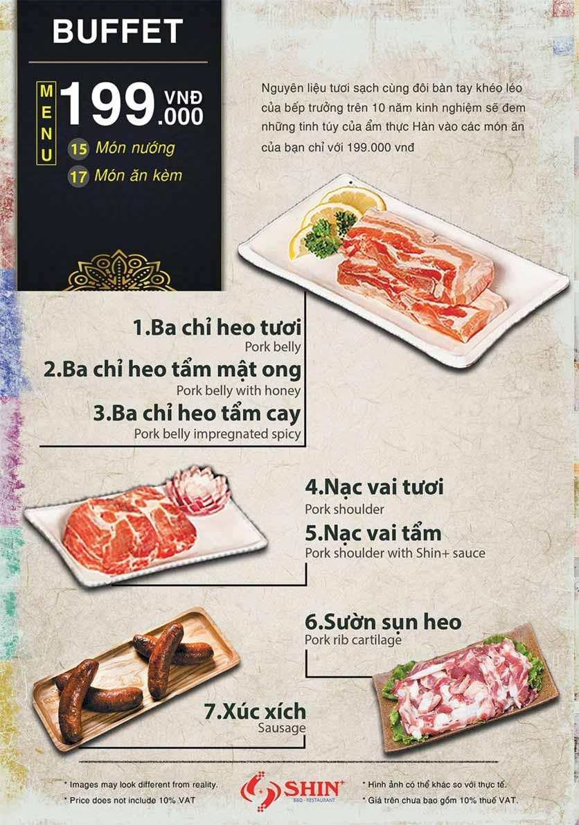 Menu Shin+ BBQ - Tố Hữu   1