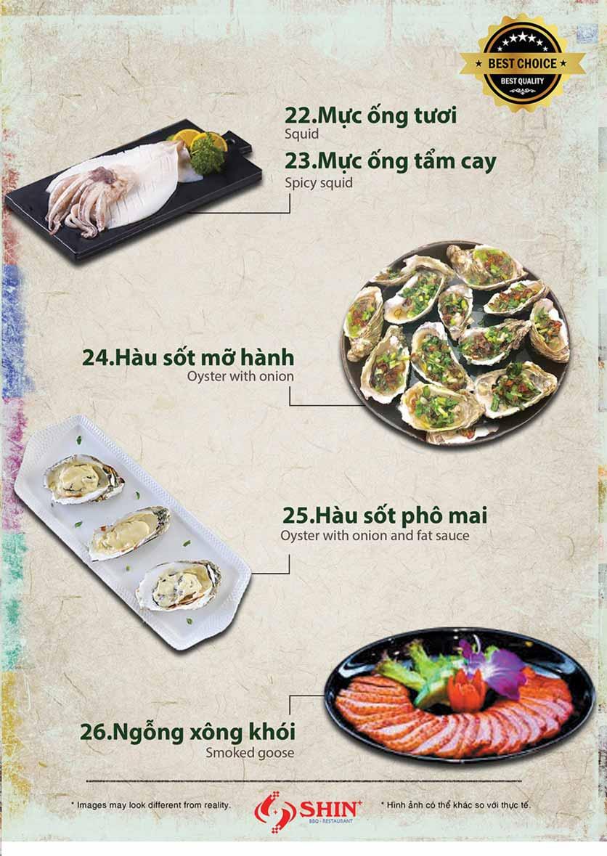 Menu Shin+ BBQ - Tố Hữu   4