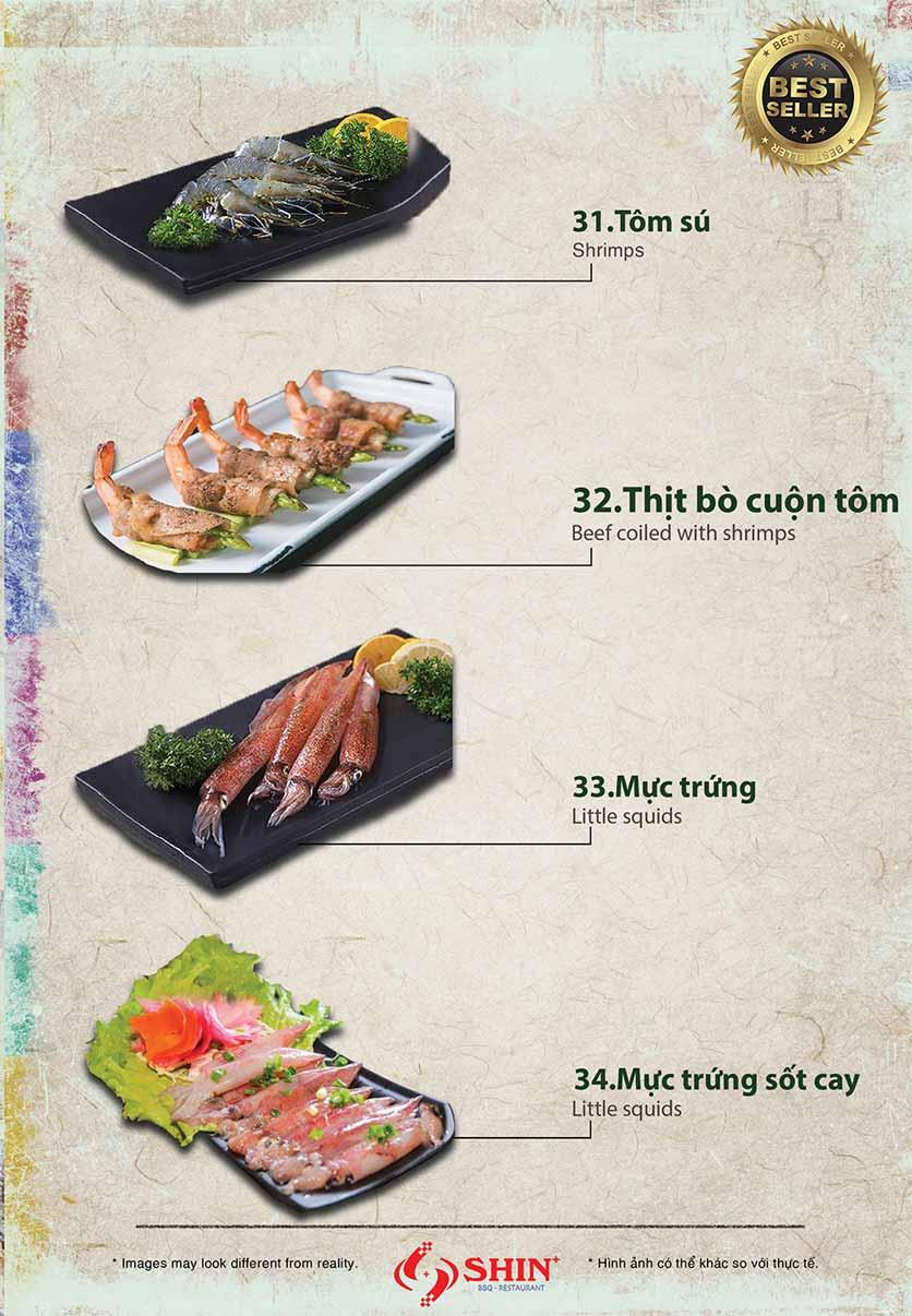 Menu Shin+ BBQ - Tố Hữu   6