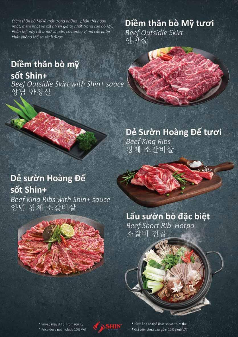 Menu Shin+ BBQ - Tố Hữu   8
