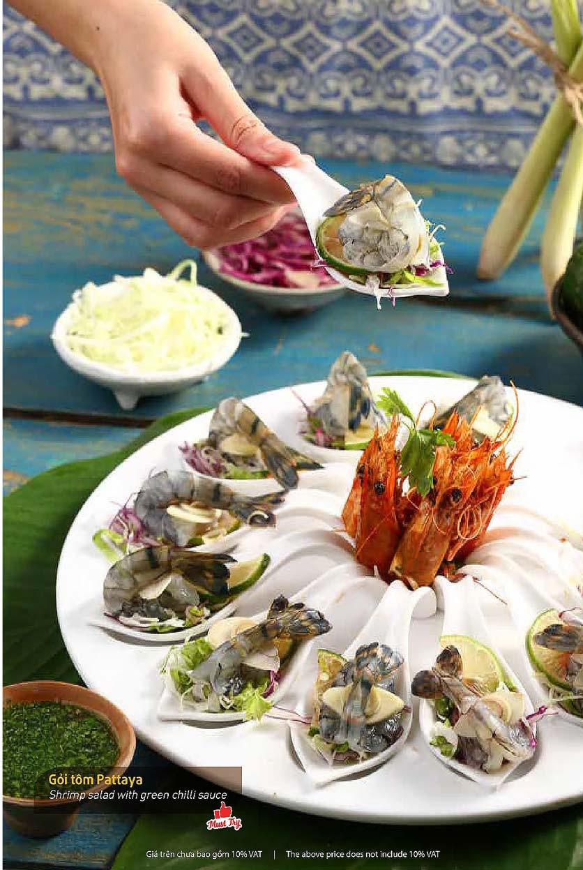 Menu Thai Pattaya  - Láng Hạ 6