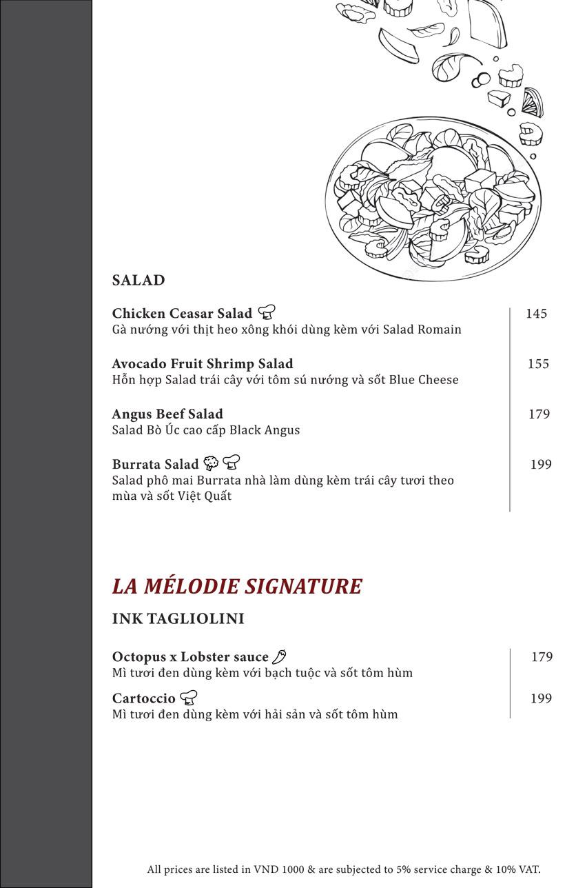 Menu Switch Restaurant - Ngô Đức Kế 2