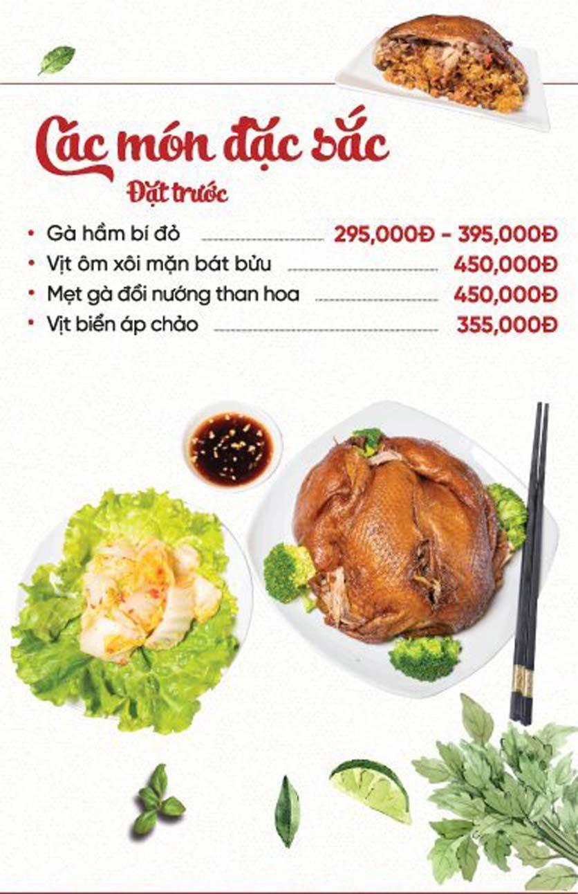 Menu Xứ Đôông - Nguyễn Huy Tưởng 11