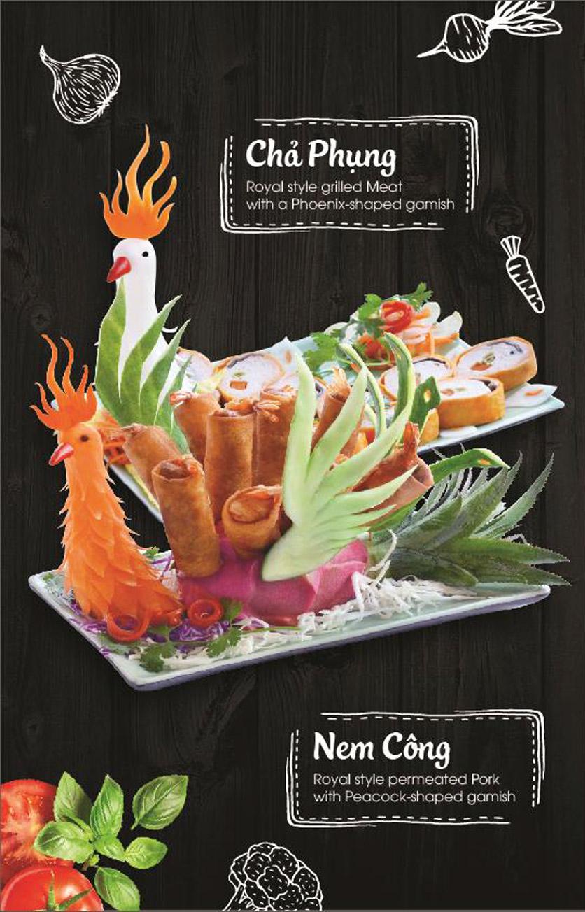 Menu Món Huế - AEON Mall Long Biên 8