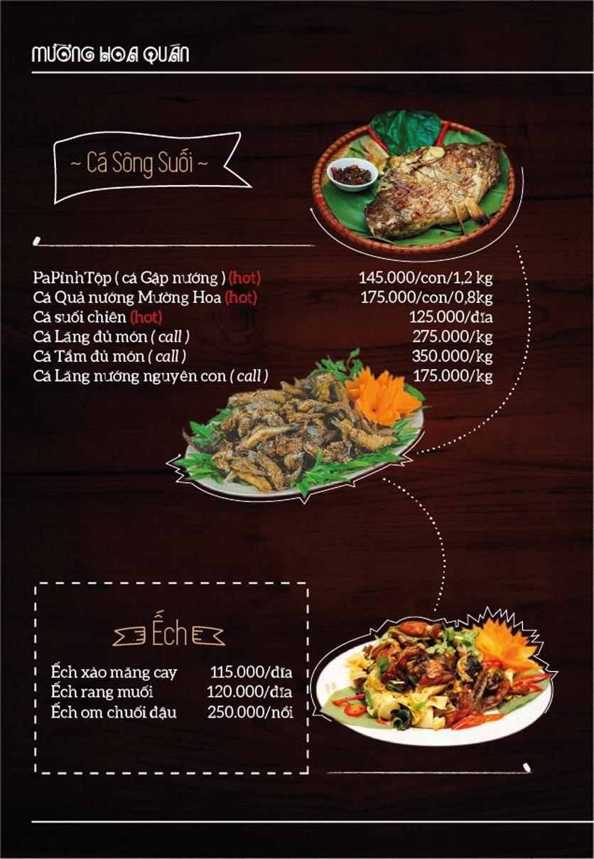 Menu Mường Hoa Quán - Linh Đàm   5