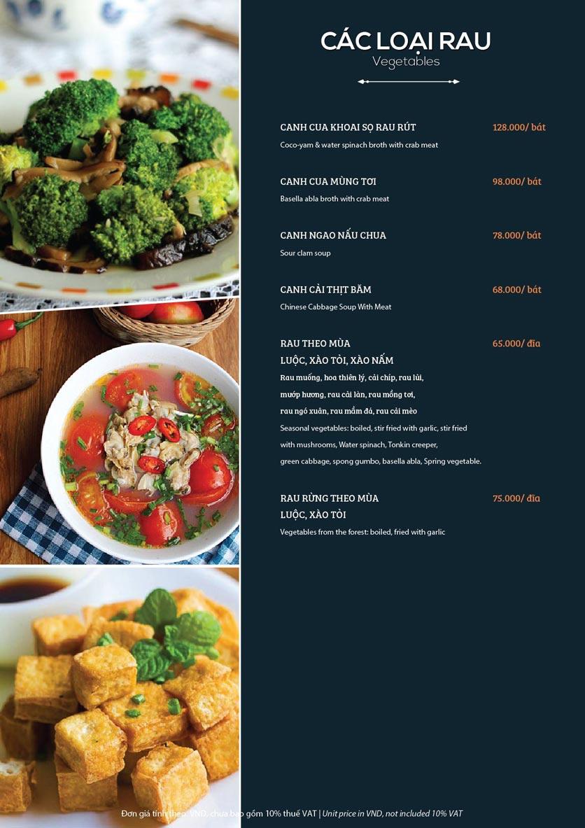 Menu My Way Seafood - Duy Tân 10