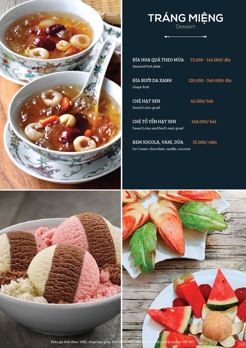 Menu My Way Seafood - Duy Tân 11