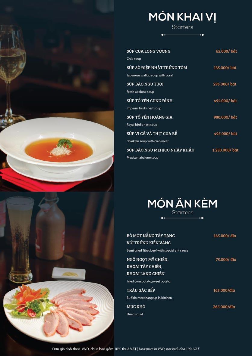 Menu My Way Seafood - Duy Tân 4