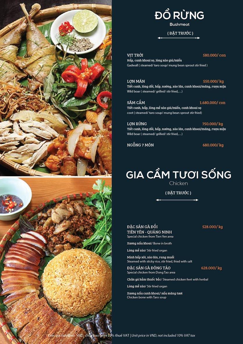 Menu My Way Seafood - Duy Tân 9