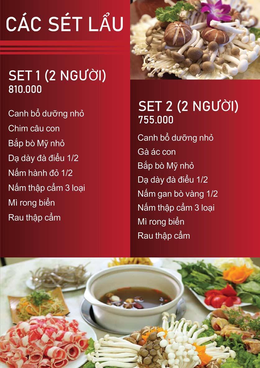 Menu Nấm Tràng An - Phạm Văn Đồng 3