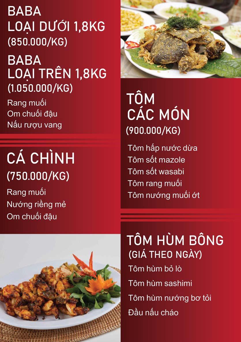Menu Nấm Tràng An - Phạm Văn Đồng 6