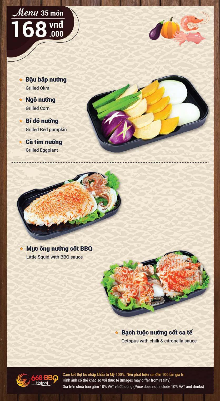 Menu 668 BBQ & hotpot -  Trần Thánh Tông 5