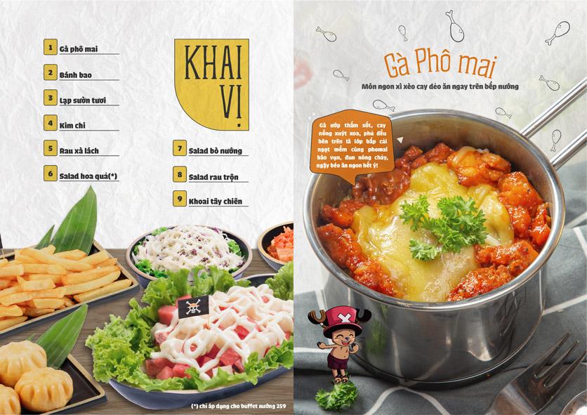 Menu One Piece – Nguyễn Chí Thanh  1