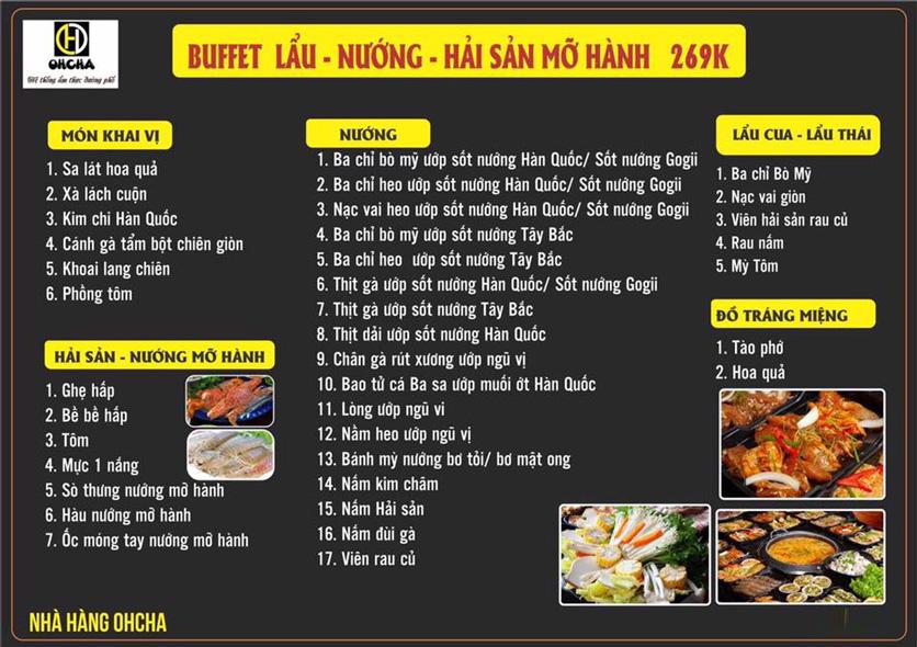 Menu OHCHA - Nguyễn Huy Tưởng   1