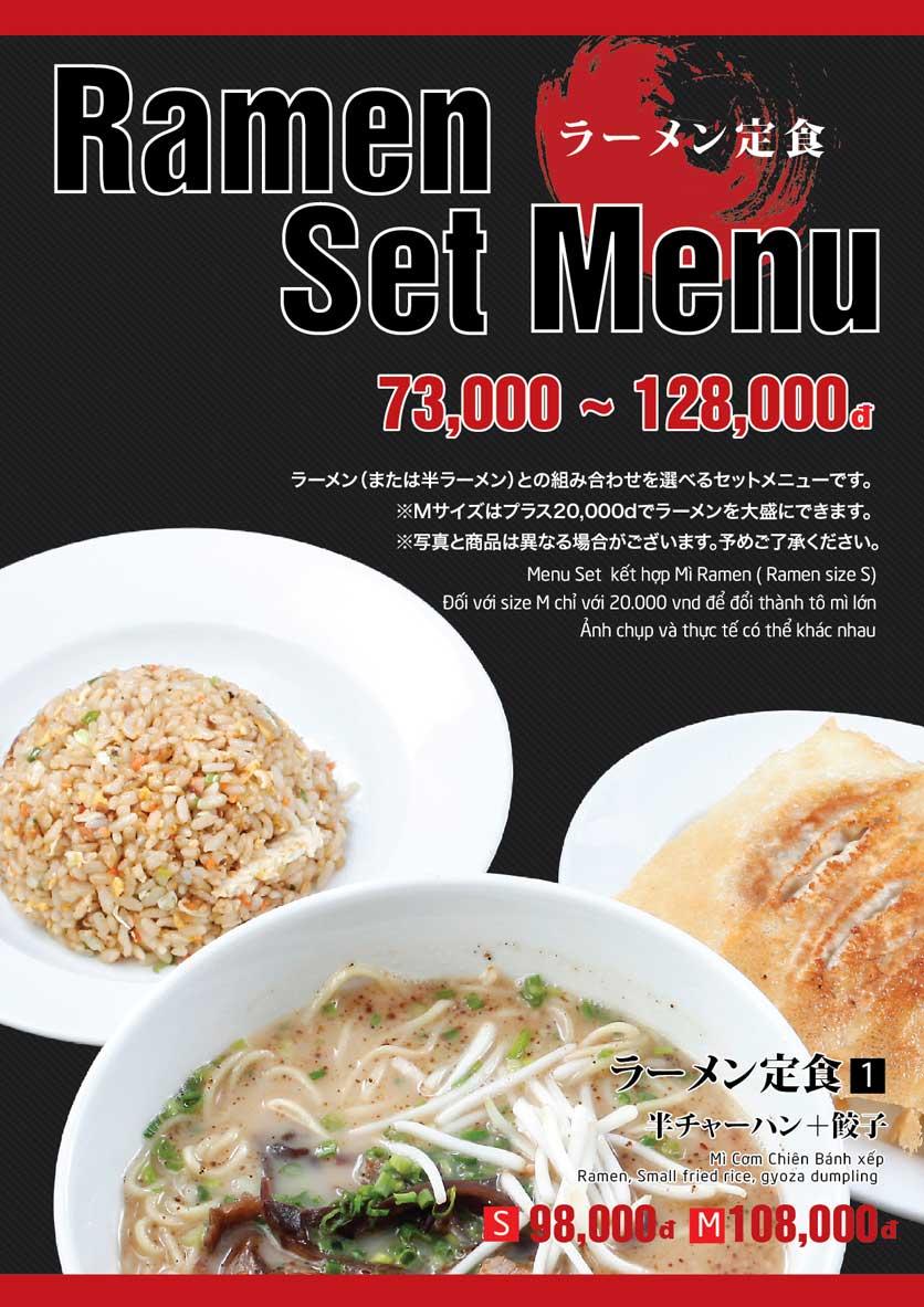 Menu Osaka Ramen - Phú Mỹ Hưng  3