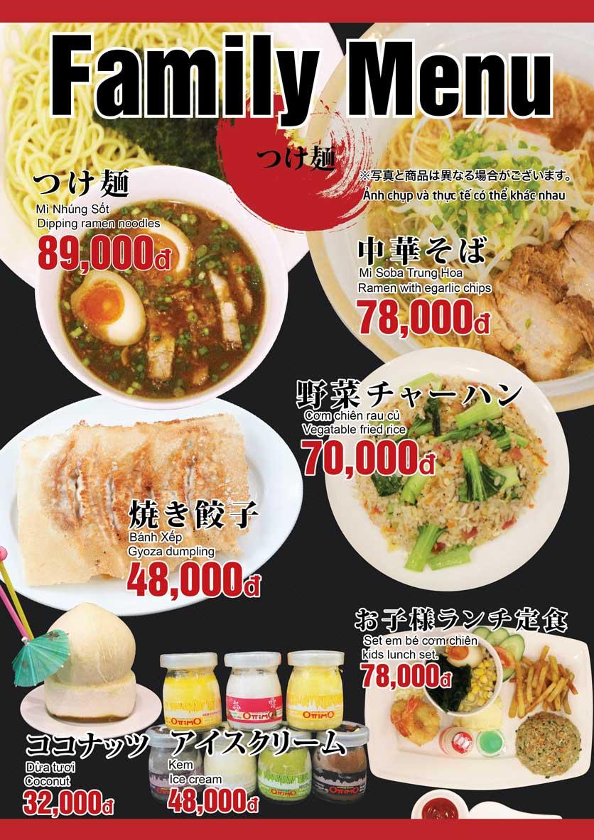 Menu Osaka Ramen - Phú Mỹ Hưng  13