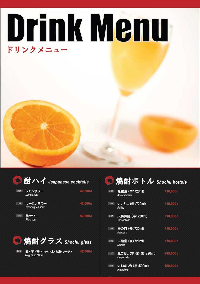 Menu Osaka Ramen - Phú Mỹ Hưng  23