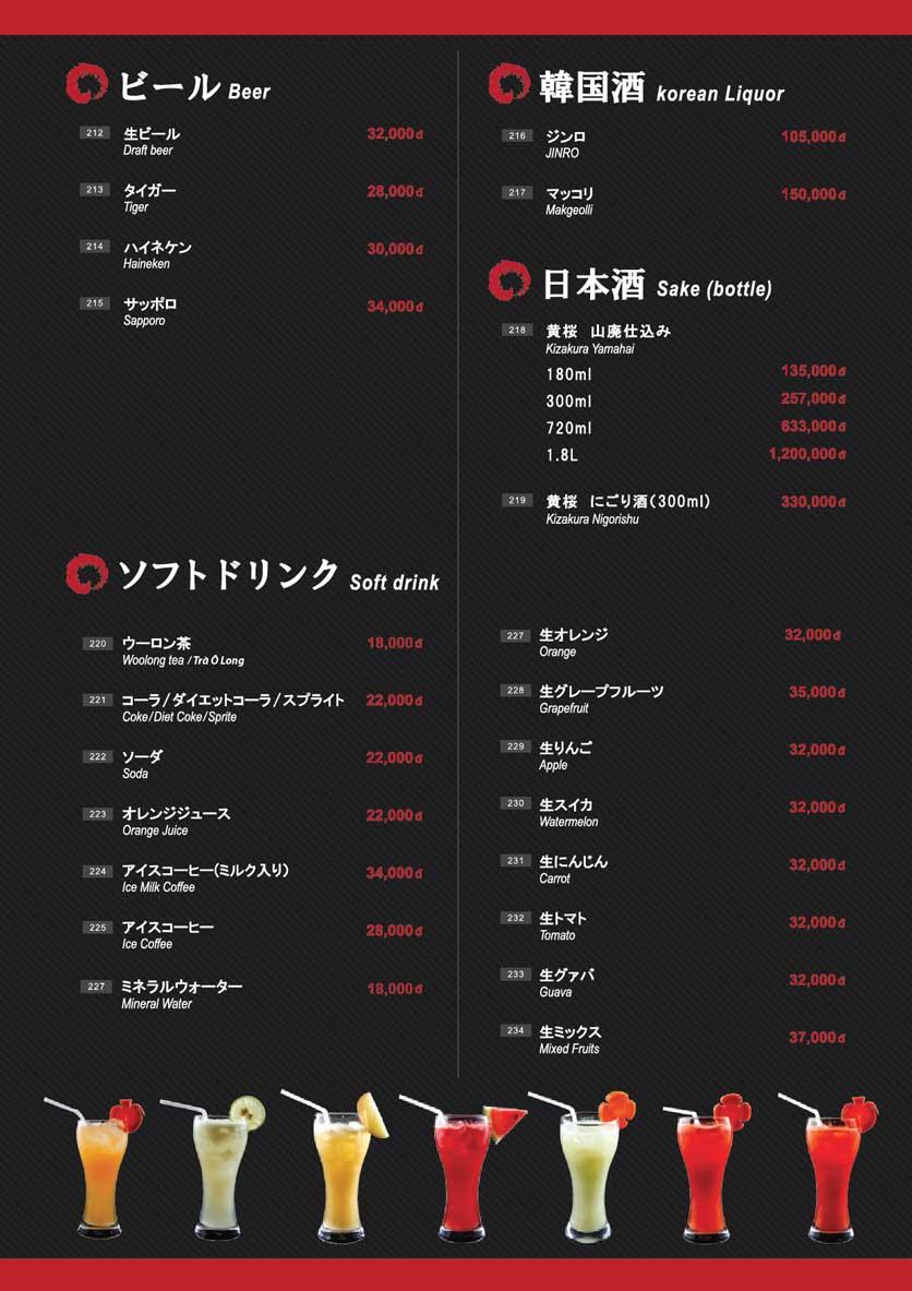 Menu Osaka Ramen - Phú Mỹ Hưng  24