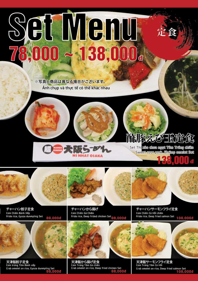 Menu Osaka Ramen - Phú Mỹ Hưng  5