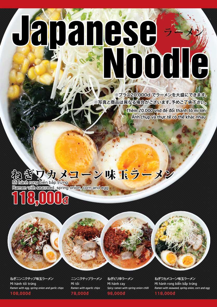 Menu Osaka Ramen - Phú Mỹ Hưng  7